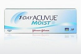 Kontaktlinser Johnson & Johnson 1 DAY ACUVUE MOIST 1DM-90P-REV