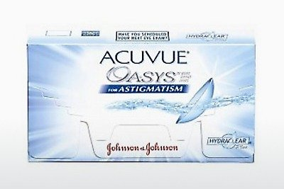 Kontaktlinser Johnson & Johnson ACUVUE ADVANCE for ASTIGMATISM (ACUVUE ADVANCE for ASTIGMATISM AGT-6P-REV)