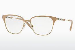 brille Burberry BE1313Q 1236 - Hvit, Gull