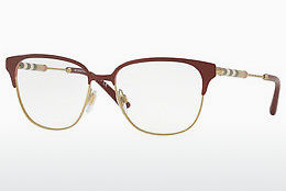 brille Burberry BE1313Q 1238 - Rød, Gull