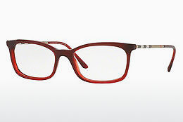 brille Burberry BE2243Q 3625 - Rød