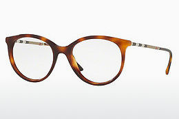 brille Burberry BE2244Q 3316 - Brun, Havanna