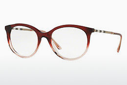 brille Burberry BE2244Q 3553 - Rød, Rosa