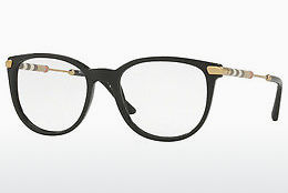 brille Burberry BE2255Q 3001 - Sort