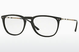 brille Burberry BE2258Q 3001 - Sort