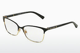 brille Dolce & Gabbana LOGO PLAQUE (DG1268 025) - Sort, Gull