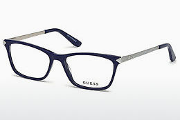 brille Guess GU2654 090 - Blå, Shiny