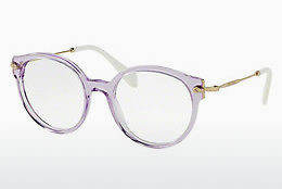 brille Miu Miu MU 04PV U691O1 - Transparent, Purpur