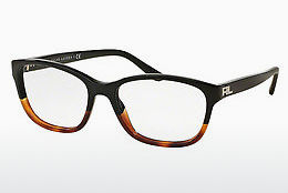 brille Ralph Lauren RL6140 5581 - Sort, Brun, Havanna