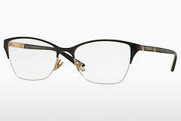 brille Versace VE1218 1342 - Sort, Gull