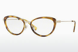 brille Versace VE1244 1400 - Gull, Brun, Havanna