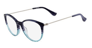 Calvin Klein CK5928 416 STRIPED BLUE