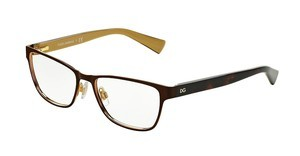Dolce & Gabbana DG1273 1269 TOP BROWN ON GOLD