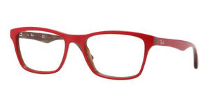 Ray-Ban RX5279 5130 TOP RED ON VARIEGATED BROWN