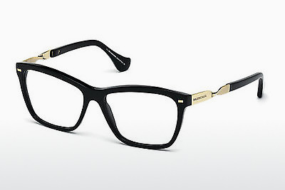 brille Balenciaga BA5014 001 - Sort, Shiny