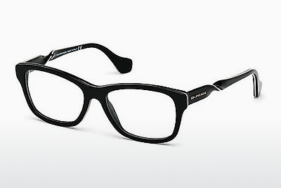 brille Balenciaga BA5038 001 - Sort, Shiny