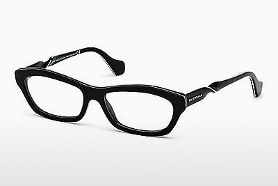 brille Balenciaga BA5039 001 - Sort, Shiny