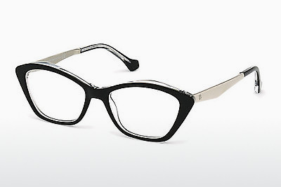 brille Balenciaga BA5040 003 - Sort, Transparent