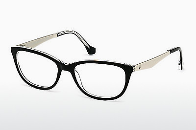 brille Balenciaga BA5041 003 - Sort, Transparent