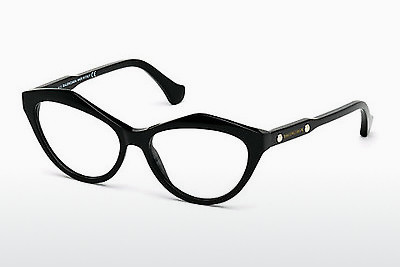 brille Balenciaga BA5042 001 - Sort, Shiny