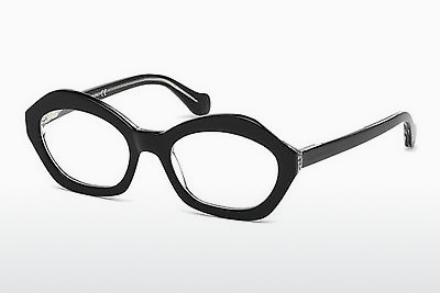 brille Balenciaga BA5059 003 - Sort, Transparent