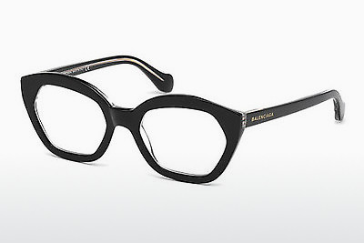 brille Balenciaga BA5060 003 - Sort, Transparent
