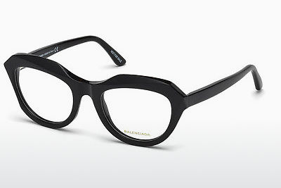 brille Balenciaga BA5076 001 - Sort