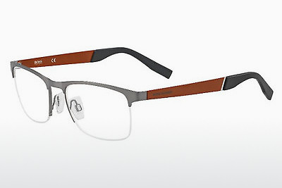brille Boss Orange BO 0227 LGG - Sølv, Ruthenium