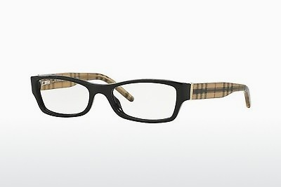 brille Burberry BE2094 3001 - Sort