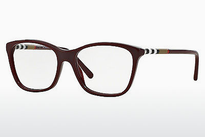 brille Burberry BE2141 3403 - Rød, Bordeaux