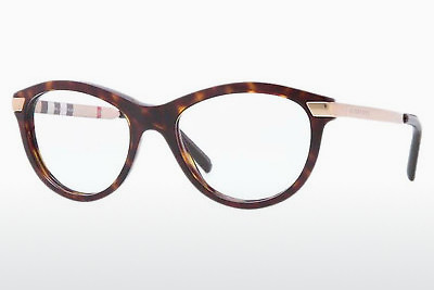 brille Burberry BE2161Q 3002 - Brun, Havanna
