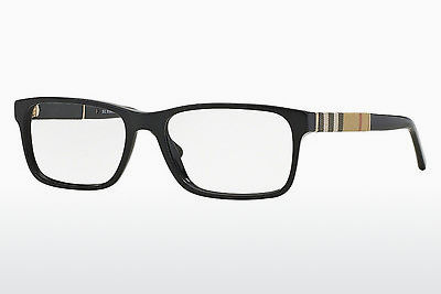 brille Burberry BE2162 3001 - Sort