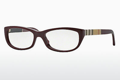 brille Burberry BE2167 3403 - Rød, Bordeaux