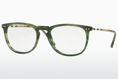brille Burberry BE2258Q 3659 - Grønn, Brun, Havanna
