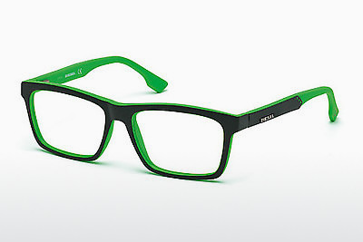 brille Diesel DL5062 099 - Sort, Green, Tier