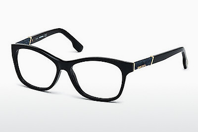 brille Diesel DL5085 001 - Sort, Shiny