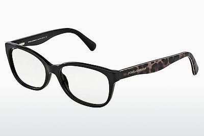 brille Dolce & Gabbana MATT SILK (DG3136 2525) - Sort