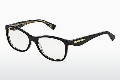 brille Dolce & Gabbana GOLD LEAF (DG3174 2744) - Sort, Flowers, Gull