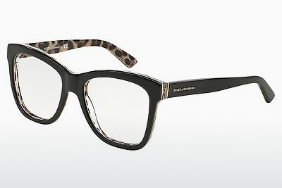 brille Dolce & Gabbana ENCHANTED BEAUTIES (DG3212 2857) - Sort, Leopard