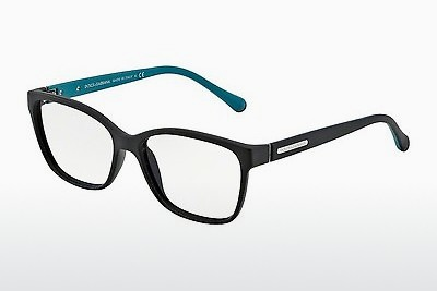 brille Dolce & Gabbana OVER-MOLDED RUBBER (DG5008 2814) - Sort