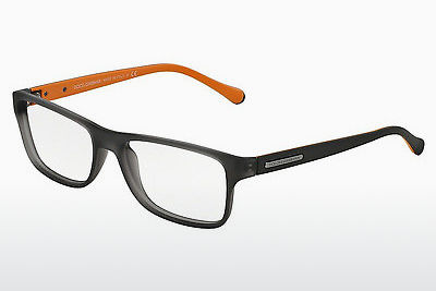 brille Dolce & Gabbana OVER-MOLDED RUBBER (DG5009 2813) - Grå, Transparent