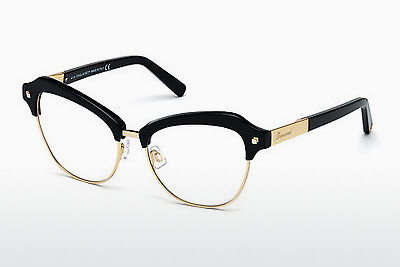 brille Dsquared DQ5152 001 - Sort, Shiny