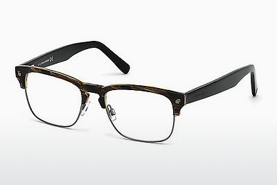brille Dsquared DQ5178 062 - Brun, Horn, Ivory