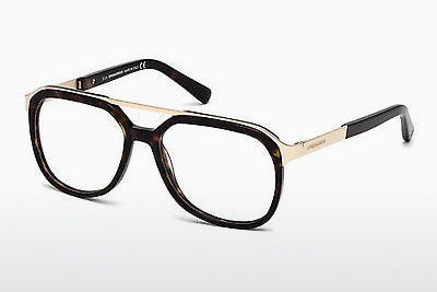 brille Dsquared DQ5190 052 - Brun, Dark, Havana