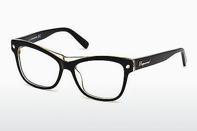brille Dsquared DQ5196 003 - Sort, Transparent