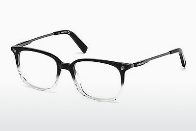 brille Dsquared DQ5198 003 - Sort, Transparent