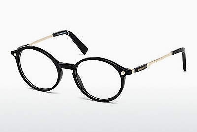brille Dsquared DQ5199 001 - Sort, Shiny