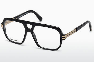 brille Dsquared DQ5208 001 - Sort