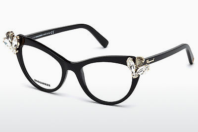 brille Dsquared DQ5213 001 - Sort