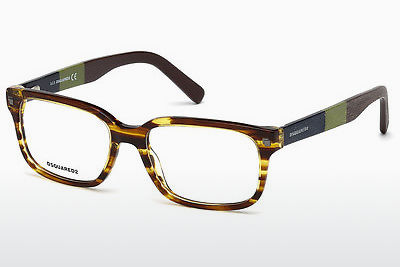 brille Dsquared DQ5216 047 - Brun, Bright
